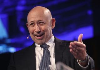 Blankfein: banche centrali stanno comprando tutti gli asset rischiosi