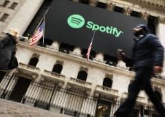 """Debutto col botto di Spotify a Wall Street, fioccano primi """"buy"""""""