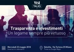 Iscriviti a WSI Talks: private banking, trasparenza e costi sotto controllo con gli ETF