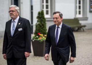 Draghi: sulla fine del QE