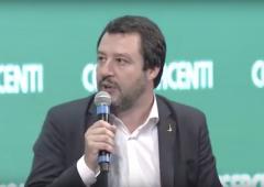 "Governo, Salvini: ""basta limiti contanti"", flat tax dal 2018"