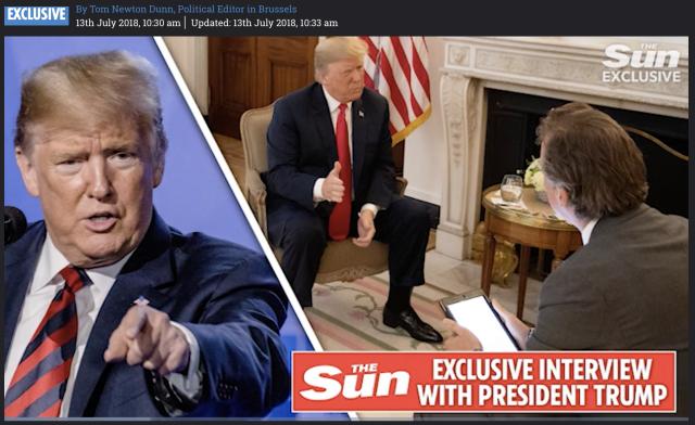 Parole pesanti di Trump: ora a essere messi in discussione sono anche i rapporti commerciali degli Usa con il Regno Unito
