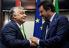 "Migranti, asse Salvini-Orban contro ""elite finanziate da Soros"""