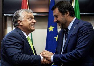 Migranti, asse Salvini-Orban contro
