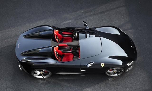 Ferrari nuova supercar