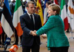 """Merkel-Macron compatti sul Recovery fund: """"l'Europa ne ha bisogno, non fallirà a causa nostra"""""""