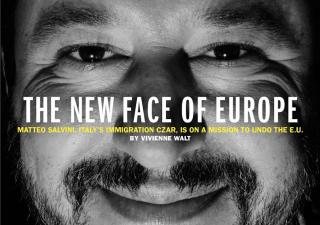 Time mette Salvini in copertina: