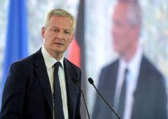 """Ministro Le Maire: """"Zona euro non abbastanza armata per nuova crisi"""""""