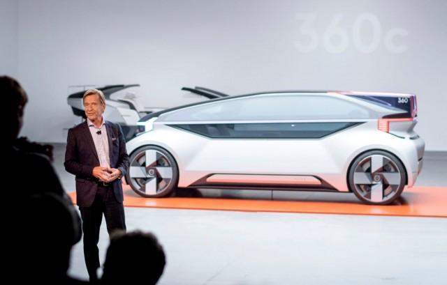 Volvo, concept car 360c