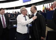 """Salvini all'attacco: Juncker e Moscovici """"hanno rovinato l'Europa"""""""