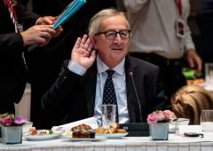 Legge di bilancio, è scontro con Bruxelles. Juncker evoca fine euro