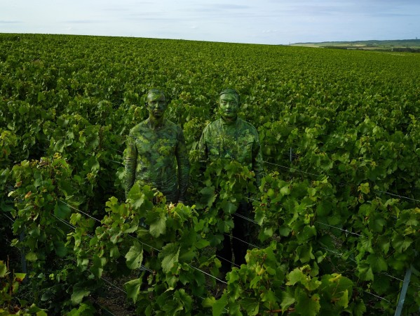 Liu Bolin x Ruinart Vineyard