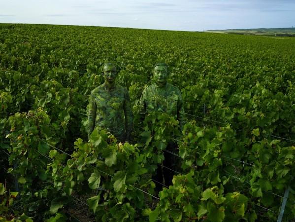 Liu Bolin x Ruinart Vineyard