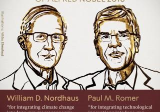 Nobel Economia a due americani per lotta al cambiamento climatico