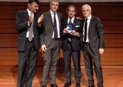 Fideuram: l'ad Molesini premia il top banker Massimo Soggia