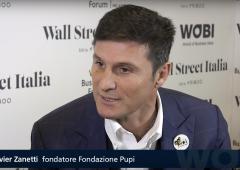 """WOBI, Javier Zanetti: """"Futuro migliore per i bambini sarebbe un gol molto più importante"""""""