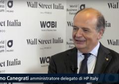 """WOBI, Canegrati (HP Italy): """"Sfida è creare tecnologie che cambino la vita"""""""
