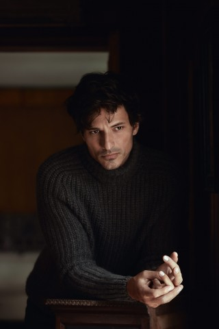Moda uomo: Andrés Velencoso, Winter Blues