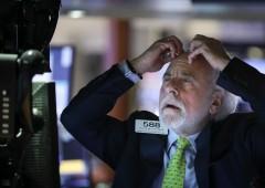 Pioggia di vendite a Wall Street iniziata con misterioso crollo nella notte