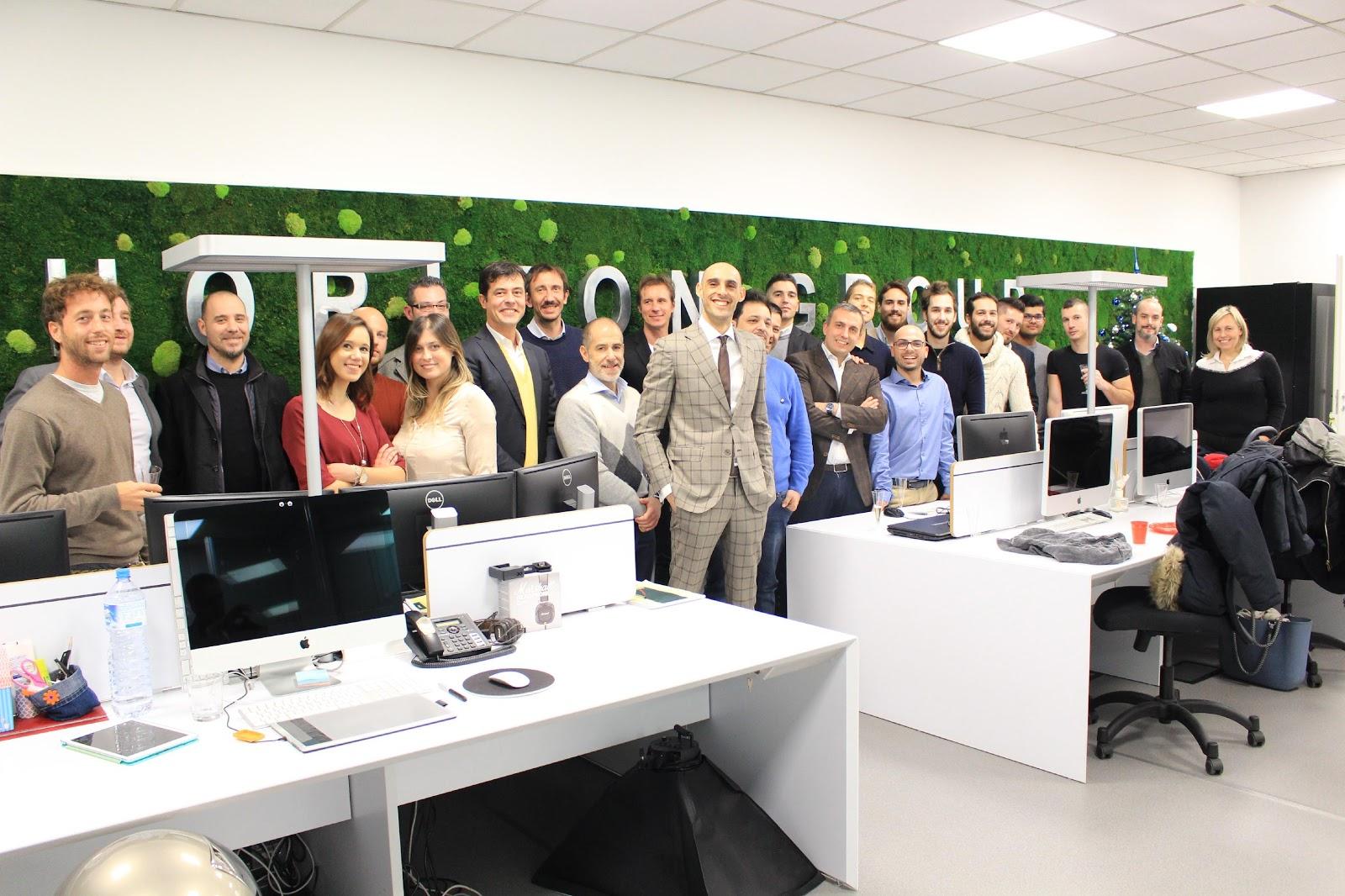 Il team di Horizon Group guidato dal Ceo e Founder Francesco Fasanaro