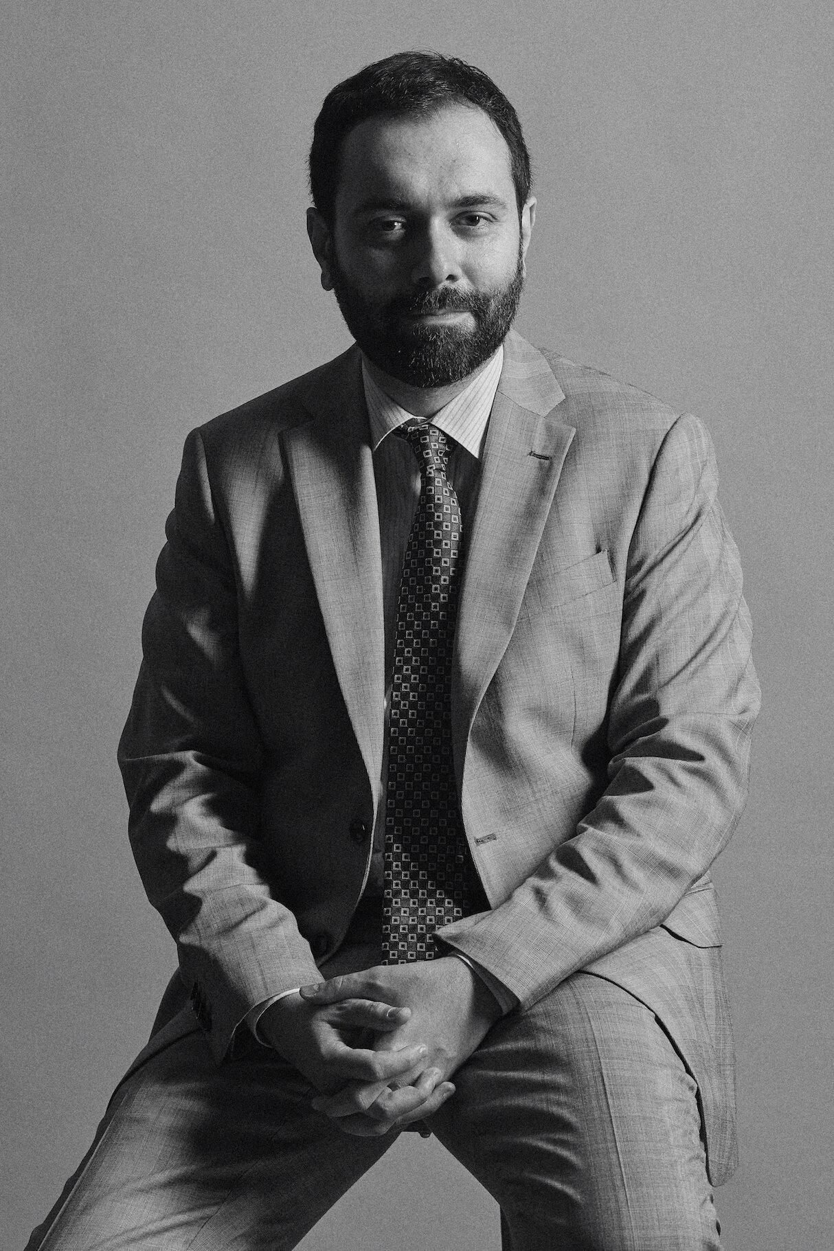 L'avvocato Matteo Di Francesco, responsabile dipartimento del lavoro Jenny.Avvocati