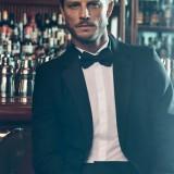 Tuxedo, camicia e papillon: Prada