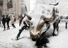 """Borsa Usa: miglior inizio d'anno dal 2003, ma mercati """"caotici"""""""