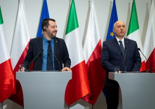 Elezioni Ue: Salvini vola in Polonia in cerca di alleati euroscettici