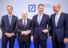 Deutsche Bank verso matrimonio con Commerzbank, a rischio 30 mila posti