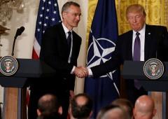 Trump ha più volte discusso l'uscita Usa dalla Nato nel 2018