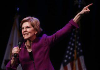 Warren attacca i Big Four: azioni FAANG ai minimi da gennaio