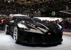 """""""La Voiture Noire"""" di Bugatti, pezzo unico da 11 milioni di euro"""