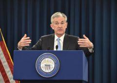 Fed taglia i tassi dello 0,25% negli Usa, costo del denaro al 2,25%