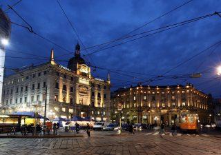 Milano corre e prepara il nuovo volto di Piazza Cordusio