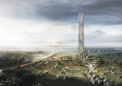 "La torre più alta d'Europa in un paesino danese: ""È hybris pre-crisi finanziaria"""