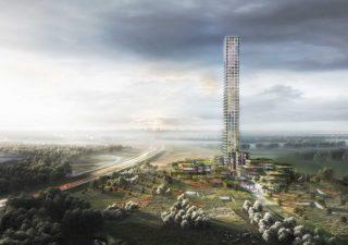 La torre più alta d'Europa in un paesino danese: