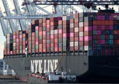 Commercio globale, peggior frenata da grande recessione