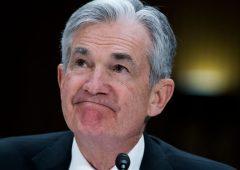 Niente taglio tassi, Fed snobba inflazione debole: fattore temporaneo