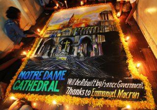 Notre Dame: per la ricostruzione parte campagna benefica in criptovalute