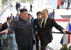 Putin e Kim Jong-un: storico primo incontro in Russia