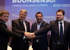 """Europee, Salvini: """"Banchieri e burocrati hanno reso l'Europa un incubo"""""""