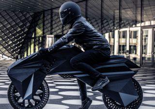 La prima moto stampata in 3D