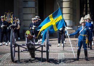 Guerra ai contanti addio, Svezia: