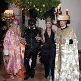 Paula Cussi, Peter Marino, chairman di Venetian Heritage US, Valentina Marini Clarelli Nasi, presidente di Venetian Heritage Italy e il principe Amyn Agha Khan