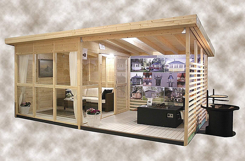 """Si chiama """"Allwood Solvalla"""" il Kit in vendita su Amazon per costruire una casa da giardino da 16 metri quadrati, la soluzione ideale per il proprio ufficio."""