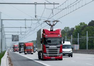 E-Highway, la prima autostrada elettrificata in azione
