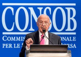 La diretta della relazione Consob, parla il presidente Savona (VIDEO)