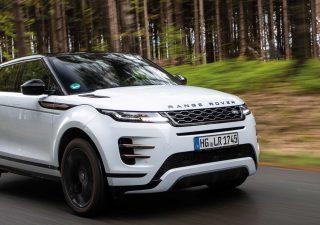 Range Rover Evoque, il nuovo ibrido