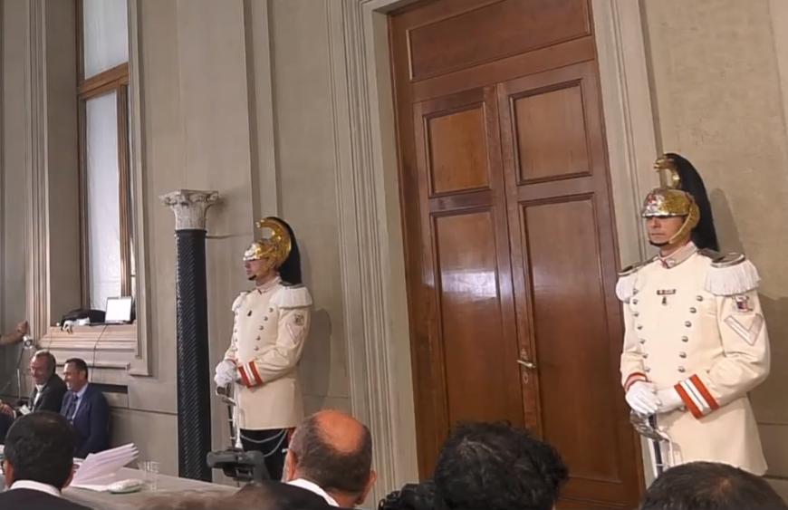 Crisi di governo: segui le consultazioni di Mattarella al Quirinale (VIDEO)