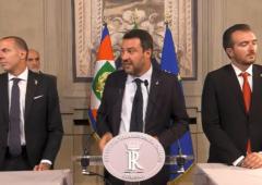 Consultazioni: la Lega di Matteo Salvini da Mattarella